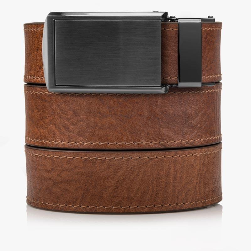 Belts for Men Top Grain Walnut