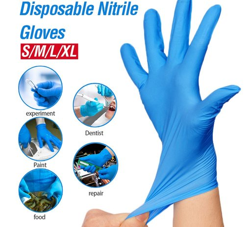 Nitrile Gloves  - 100/Box - 8 MIL