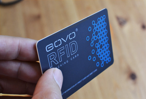 Badge Holder Wallet GOVO RFID Blocking Card