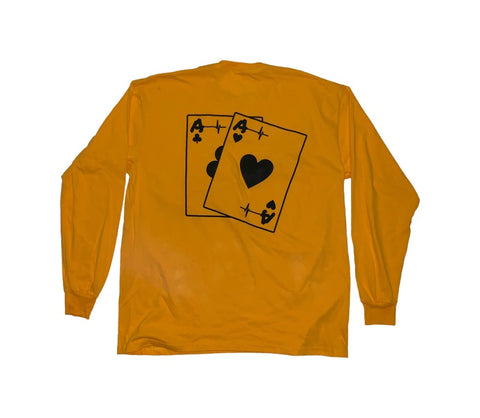 Long Sleeve Shirt - Aces Life's A Game