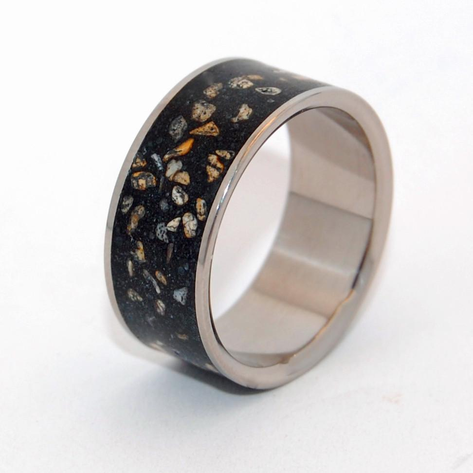 Men's Rings Night Sky