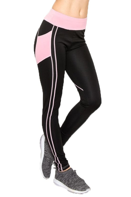 Pink Heart Women's Workout Leggings
