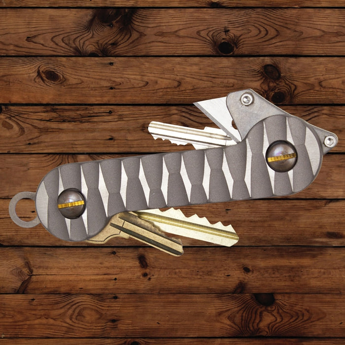 Key Holder Titanium Slayer by KeyBar