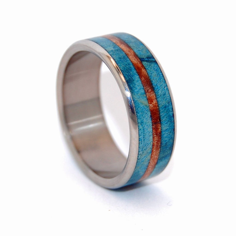 Men's Rings Blue Maple Surf