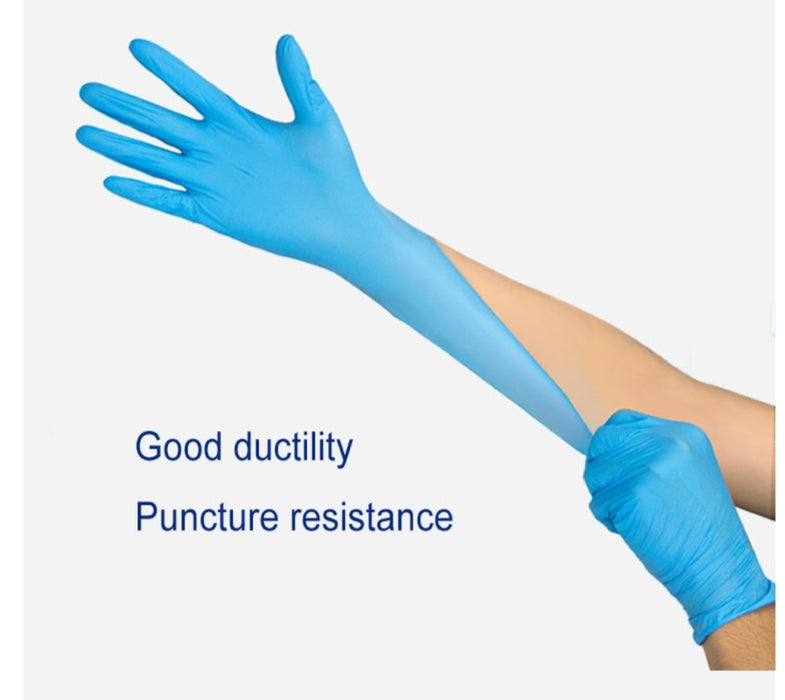 Nitrile Gloves - Per Case = 10boxes or 1000 Gloves