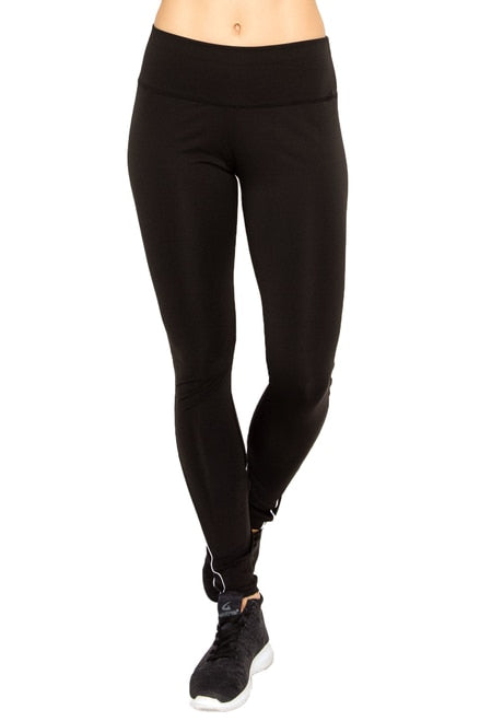 Contour Piping Mesh Sport Workout Leggings