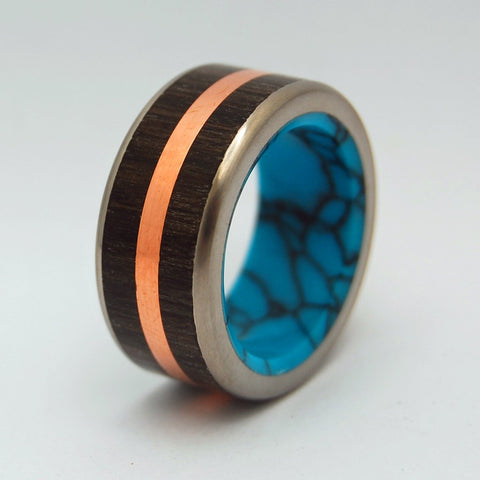 Men's Rings Copper Bog