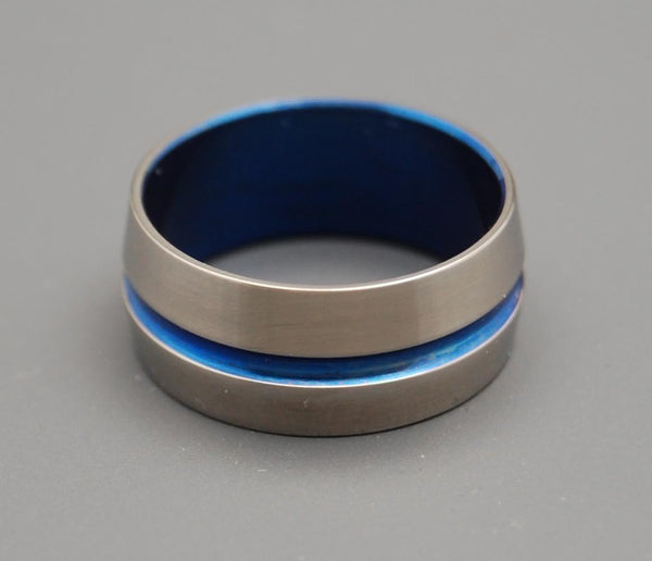 Men's Rings Blue Signature