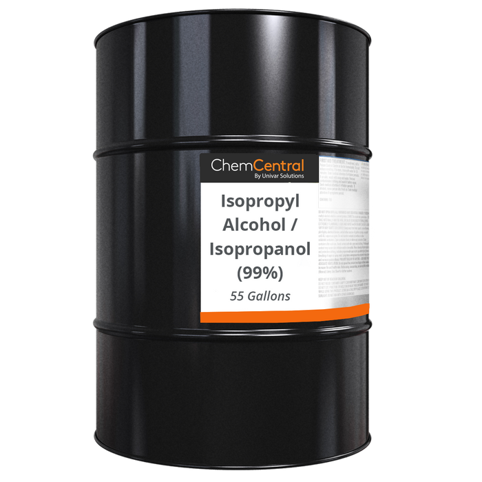 Isopropyl Alcohol 99.8%  –  55 Gallons