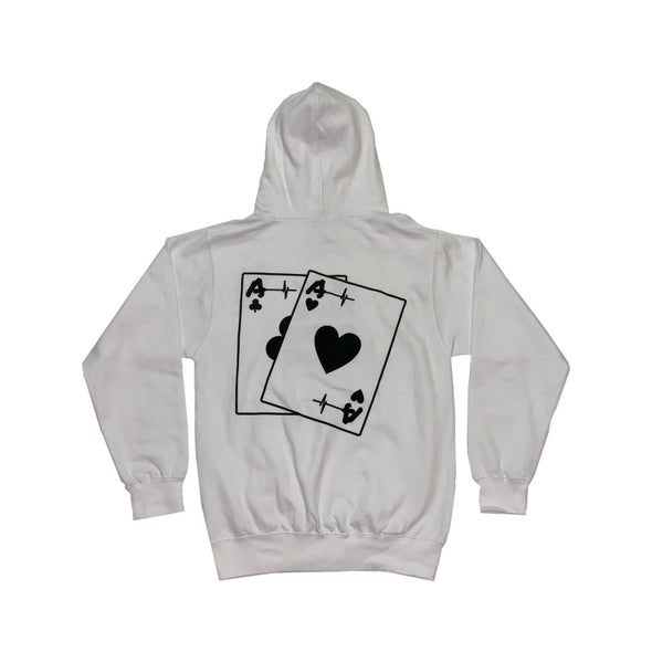 Hoodie - Life's A Game Play Your Cards Right