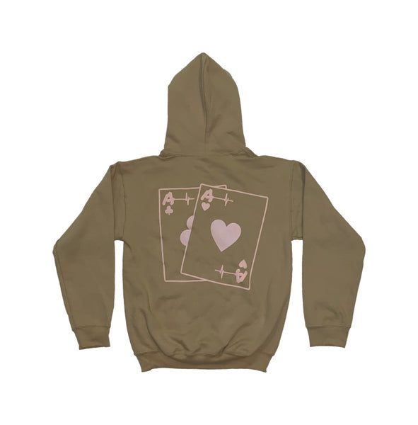 Hoodie - Life's A Game Basic Aces