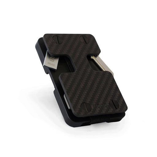 Carbon Fiber Liquid Wallet by Liquid Carry