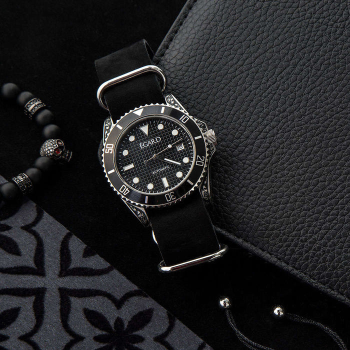 Poseidon Watch by Égard - Filigree Steel