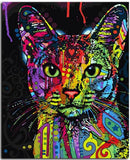 Colorful Abstract Cat - DIY Paint By Numbers