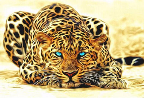 Leopard - DIY Paint By Numbers