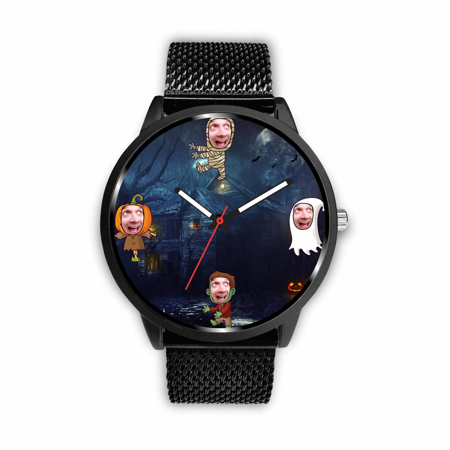 Halloween Watch - Personalized Watch With Your Face