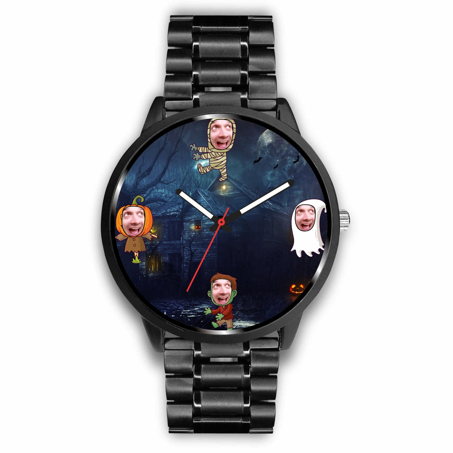 halloween watch personalized watch with your face