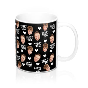 Dad, I Love you, Personalized Mug With Your Photos