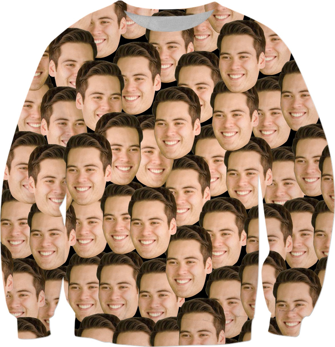 Premium Personalized Sweater With Your Face