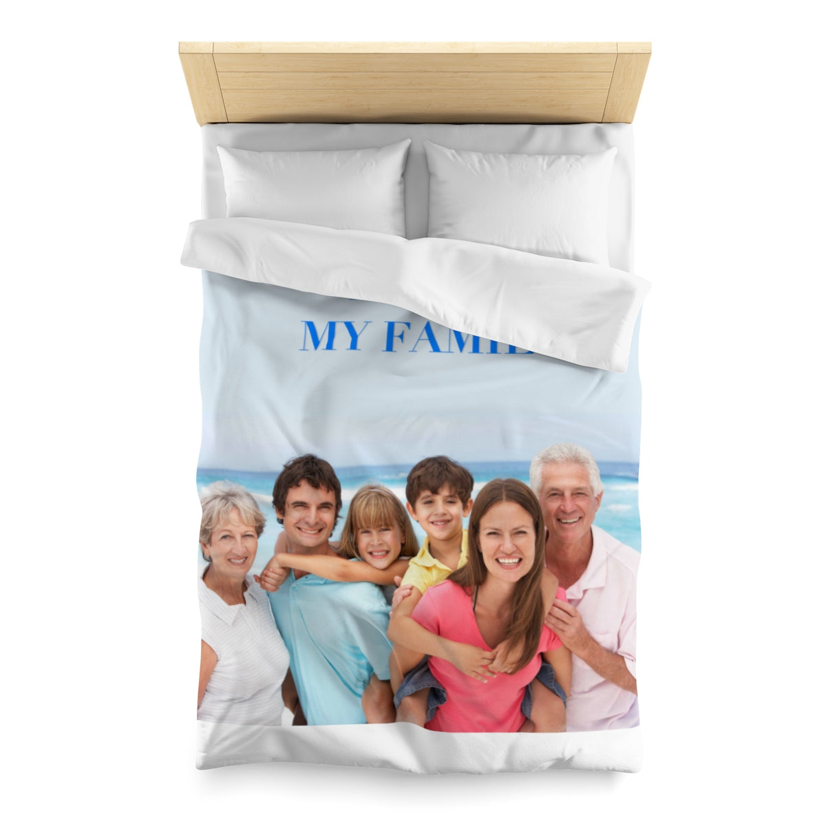 Personalize with your photo Bedding Microfiber Duvet Cover ( Only Bedding cover)