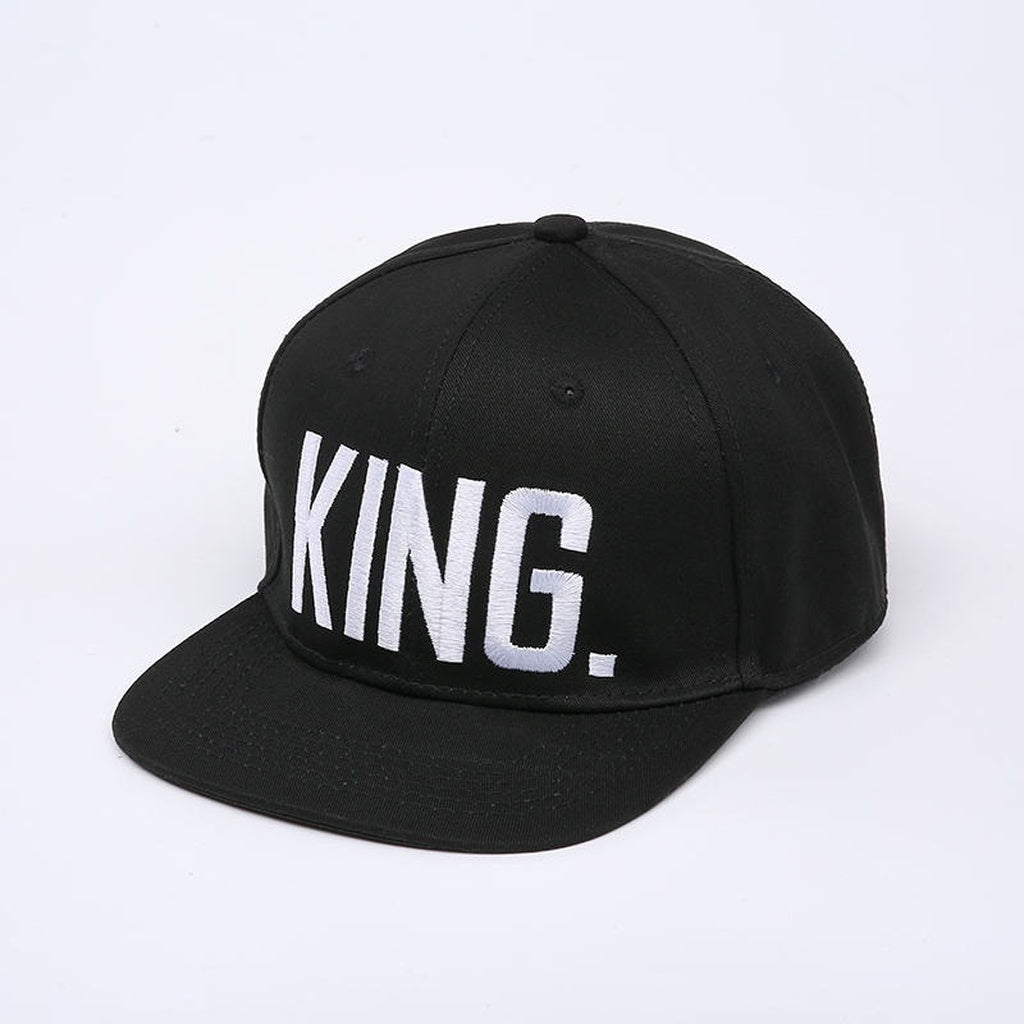 2017 explosion models KING QUEEN Snapback baseball hat hip-hop cap men and women kart drivers cap