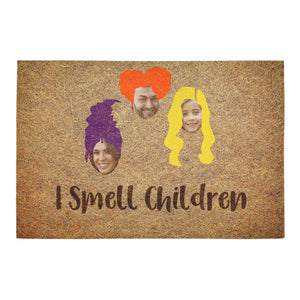 I Smell Children Personalized Doormat For Halloween