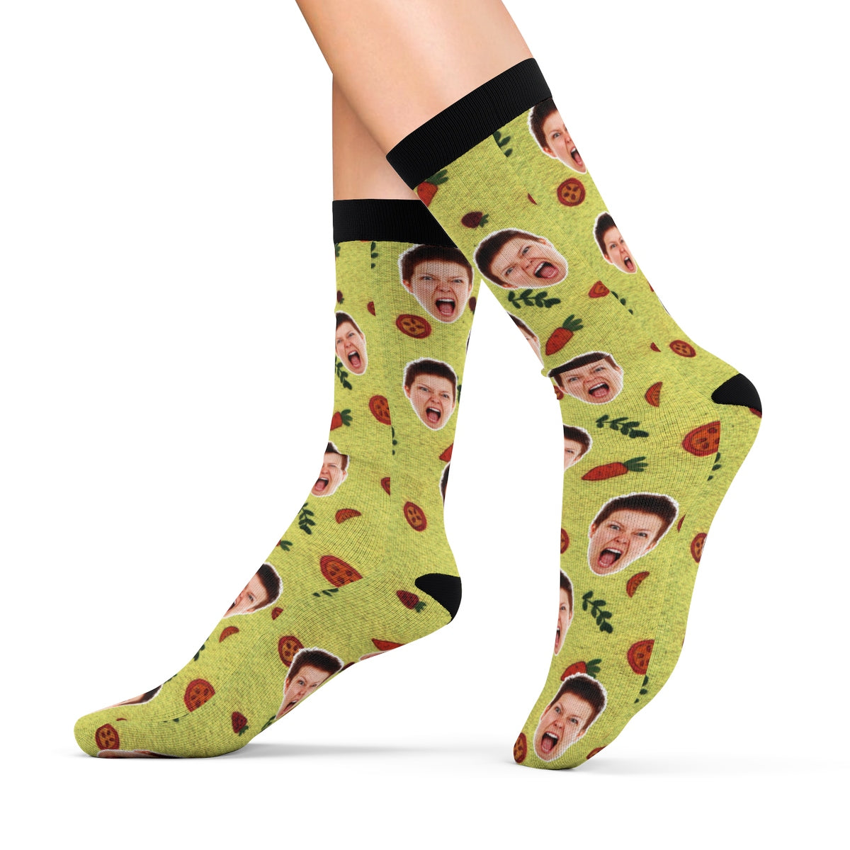 Funny Socks With Your Face Personalized Socks