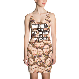 """Name here"" Owns... Dress - Personalized Your Face"