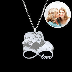 Personalized Silver Necklace For Mother's Day