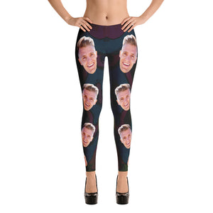 Funny Personalize Legging With Your Face
