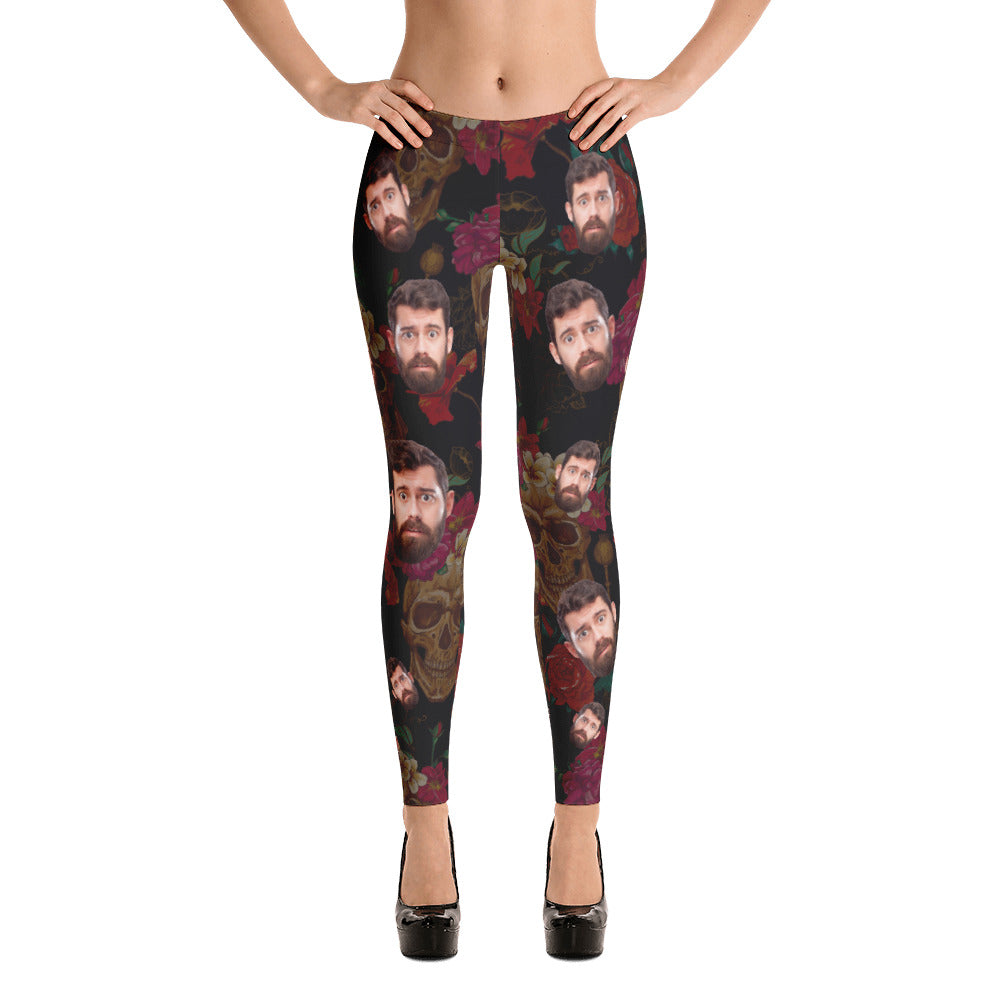Funny Personalize Legging With Your Face S1