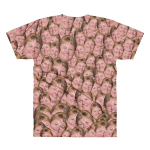 Personalized Men T-shirt With Your Face