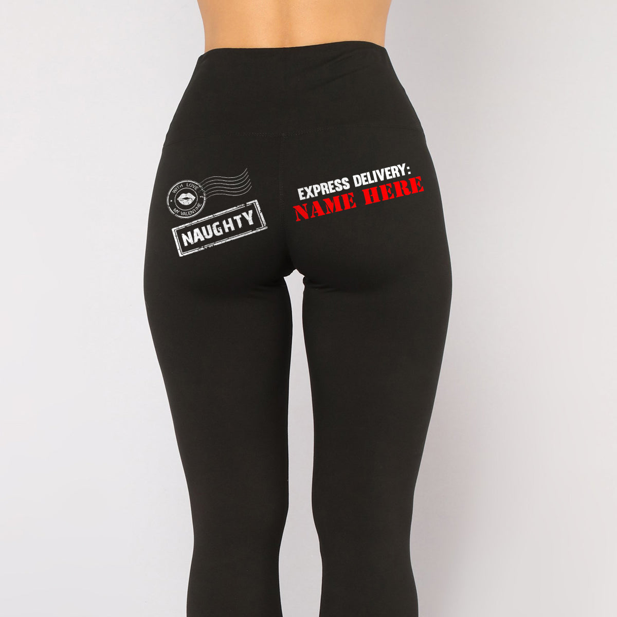 Delivery.. Valentines Day All-Over Low Rise Leggings