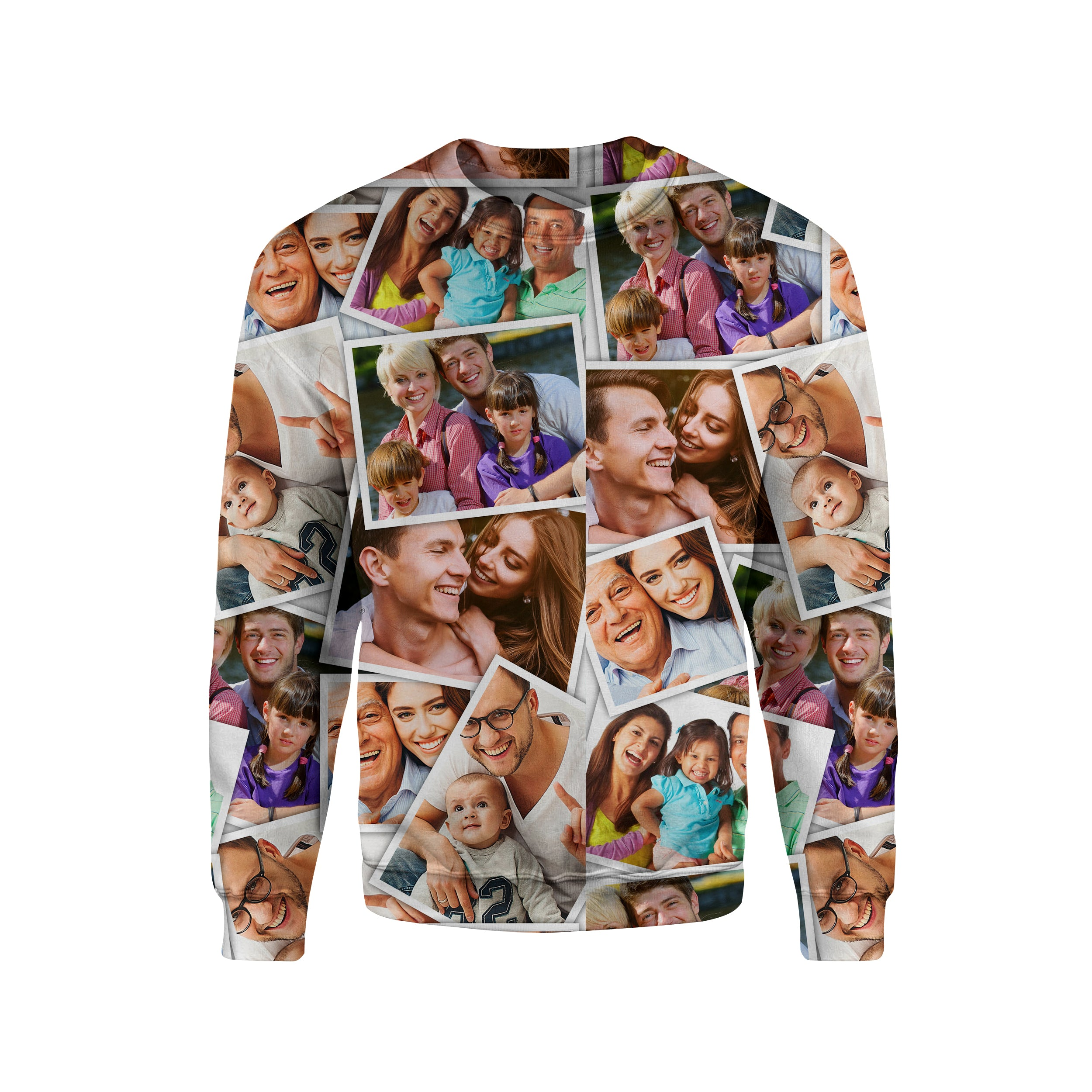 Custom Photo Album Unisex Sweatshirt