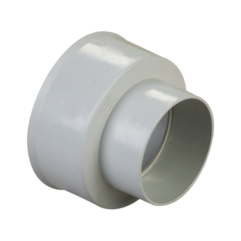 100mm VC to PVC Spigot Adapter
