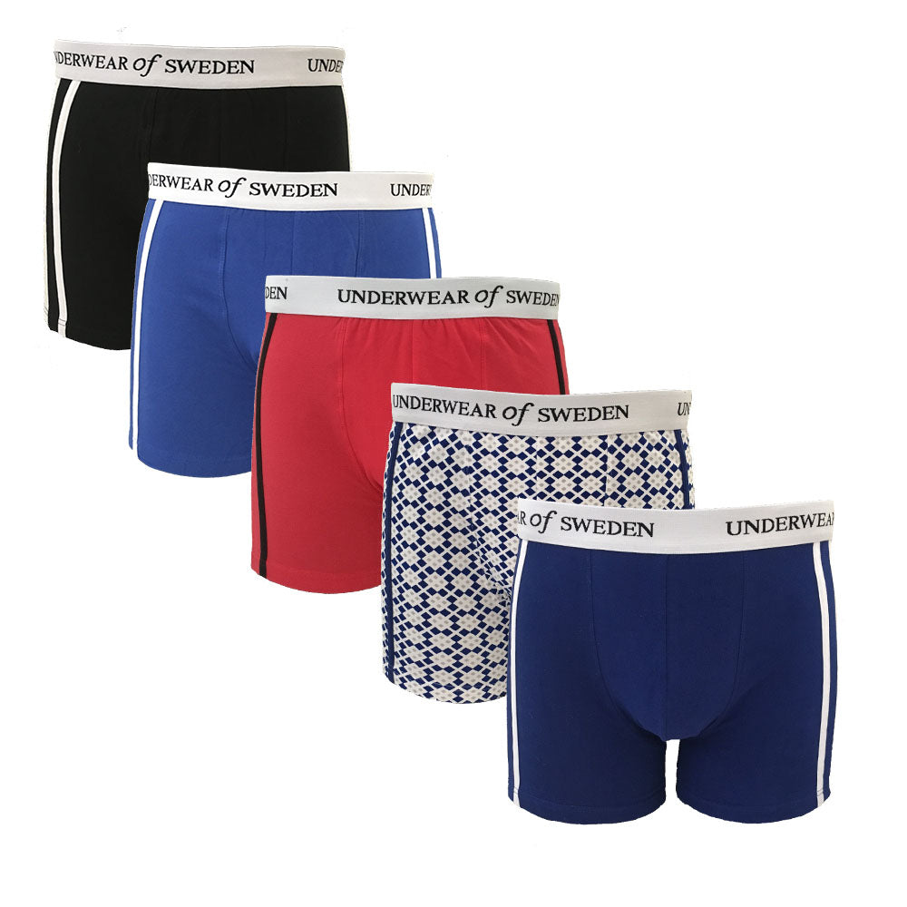 Mens Boxers 5-Pack (Multi)