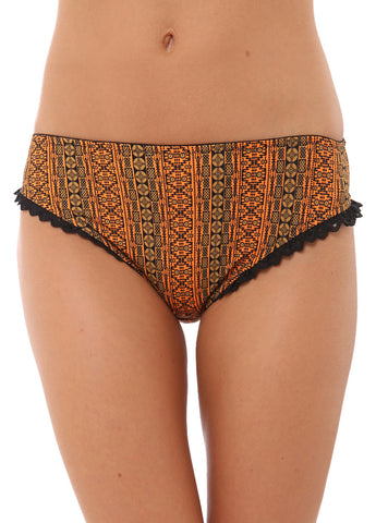 Alexa BRIEF WITH FRILLS BlueOrange