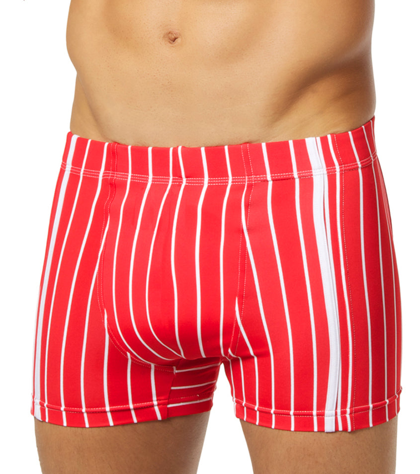 Max For Men - Board Jocks in Red and White
