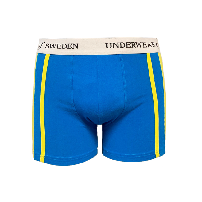 Blue & Yellow Boxer Shorts