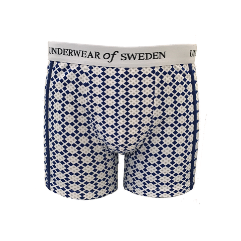 Mens Boxer Shorts - Leaf Print
