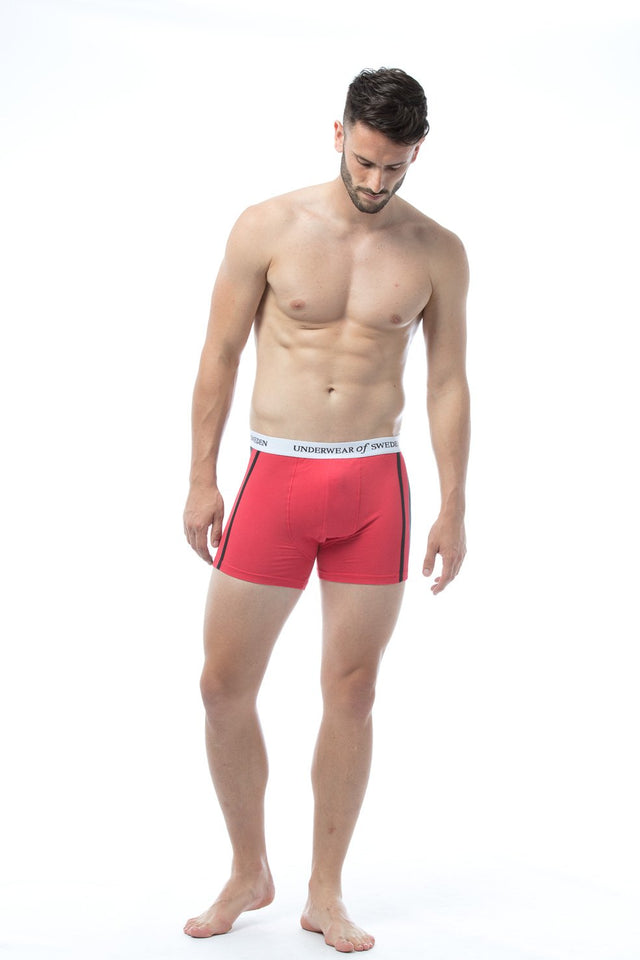 Black & Red Boxer Shorts