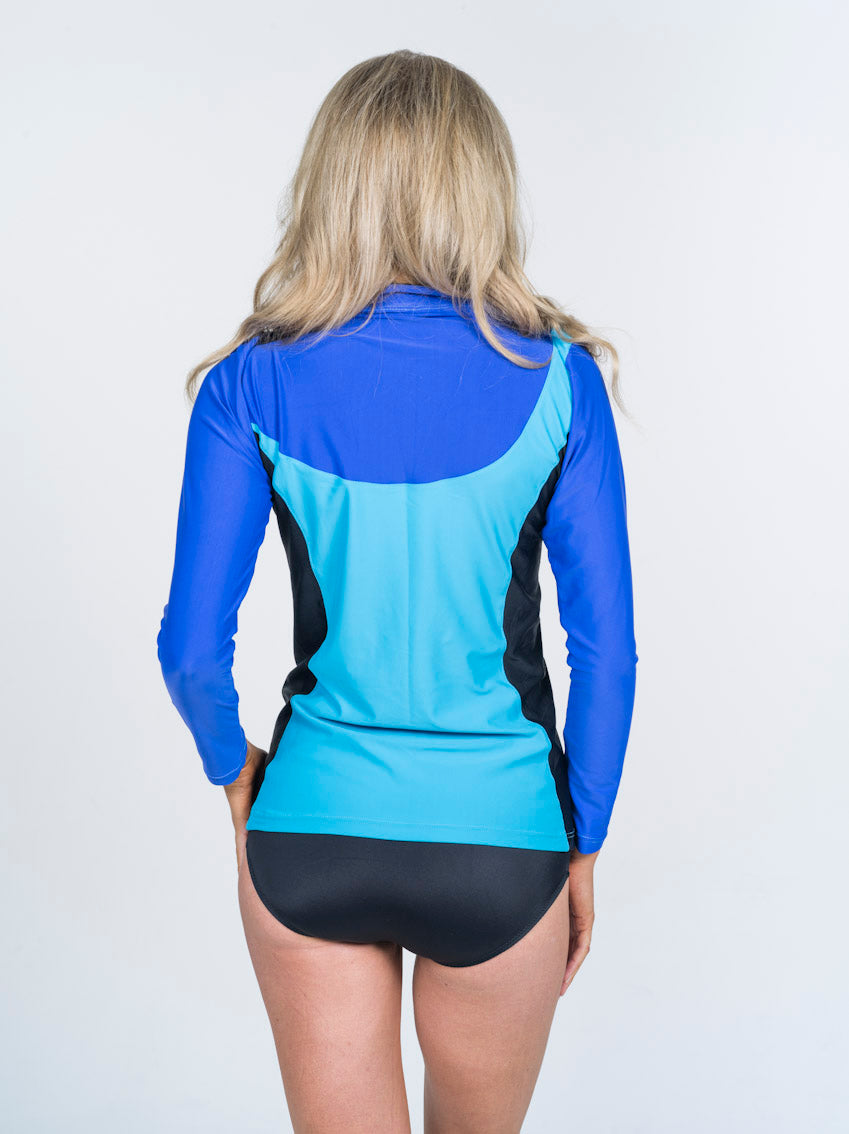 Acqua Rash Vest Blueblack
