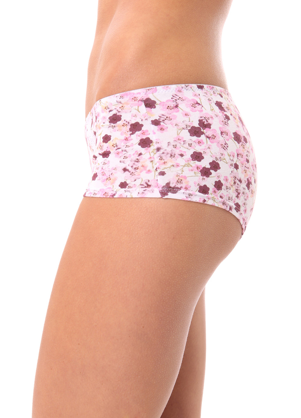 Spring SHORTS FloralIvory