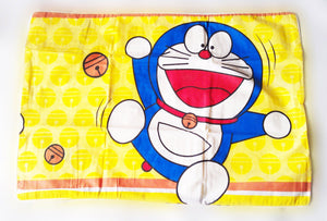 Doraemon Bedsheet and Bed cover set/ Bedding Set / Duvet cover set ( Size: Single)