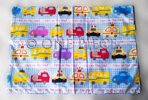 Mini Cars BedSheet ( Size: Single)