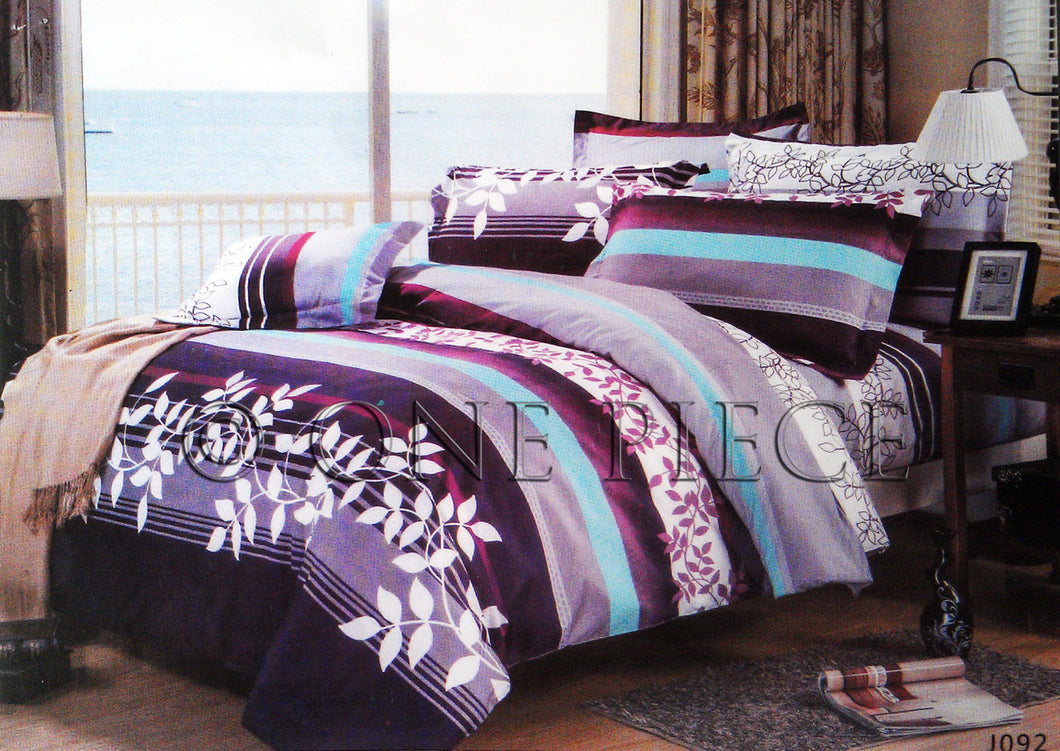 One Piece BedSheet Design 2 ( Size: King)