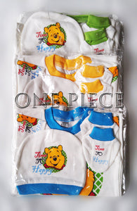 Winnie the Pooh Baby Rompers set with hat and bib (100% Cotton)