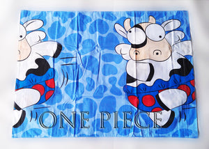 Dancing Cow Bedsheet (Size: King)