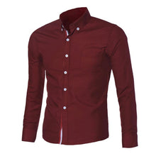Homme Slim Fit Long Sleeve Men Shirts