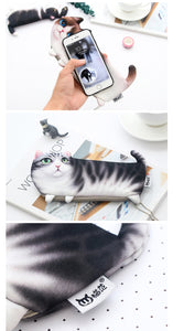 Kawaii Cartoon Cat Pencil Case